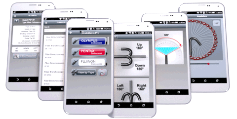 Endoscope app for mobile
